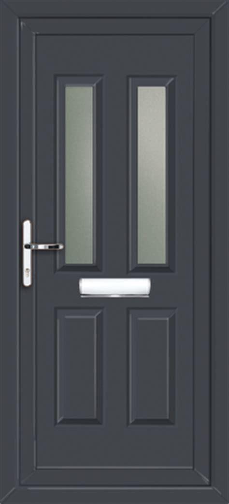 Coloured Upvc Front Doors Anthracite Grey Pvc Front Door