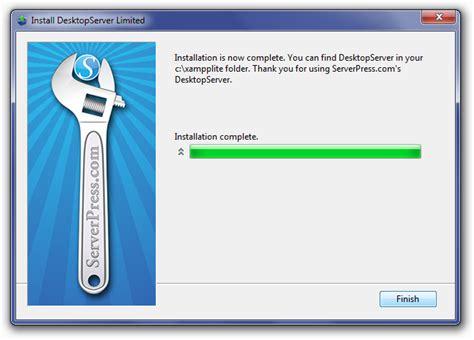 installing desktopserver make wordpress core