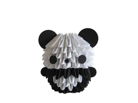 how to make 3d origami panda easy origami panda images