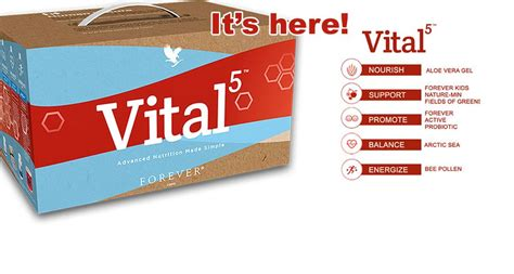Forever In 5 forever vital 5 your bodies health from to toe