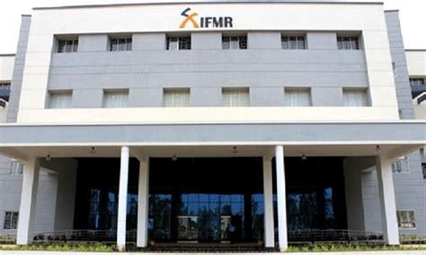 Ifmr Chennai Mba Fees by Institute For Financial Management Research Ifmr
