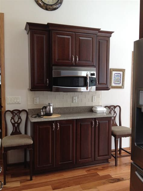princeton kitchen cabinet schuler cabinetry princeton cherry in ginger snap finish