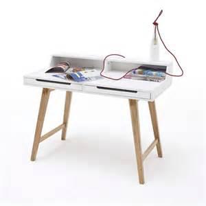 design schreibtisch weiss design schreibtisch tif weiss buche 110x58cm lounge zone