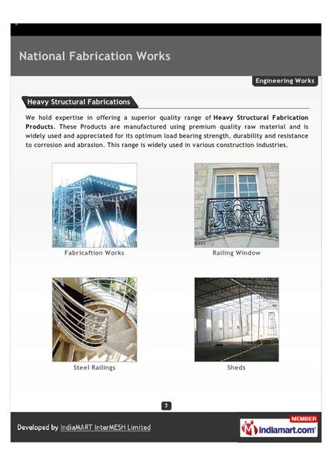 national pattern works faridabad national fabrication works faridabad fabricaftion works