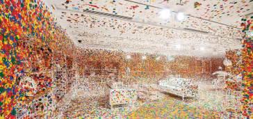 the obliteration room yayoi kusama arch2o com