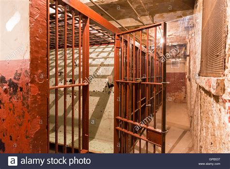Wayne County Arrest Records Indiana Fort Wayne Indiana Cells In The Basement Of The Former Fort Stock Photo