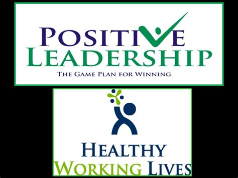 attentive leadership lead with a healthy self image books positive leadership presentation for healthy working lives