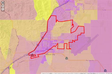 zip code map vacaville ca solano county 94533 fairfield ca 3 12 frank top