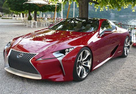 lexus lf lc price lexus lf lc takes to the road for the first time with