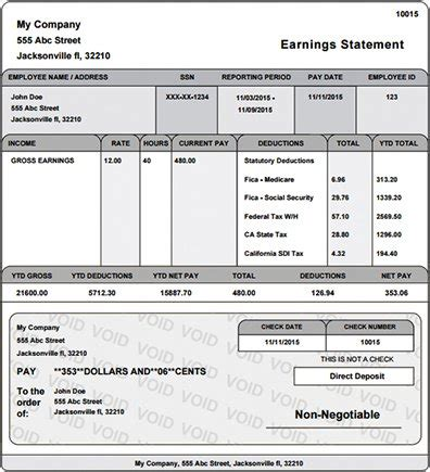 Pay Stub Template With Auto Calculator Upcomingcarshq Com Free Pay Stub Template With Calculator