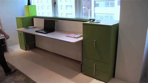 Murphy Bed And Desk by Cabrio In Desk Resource Furniture Wall Bed Systems