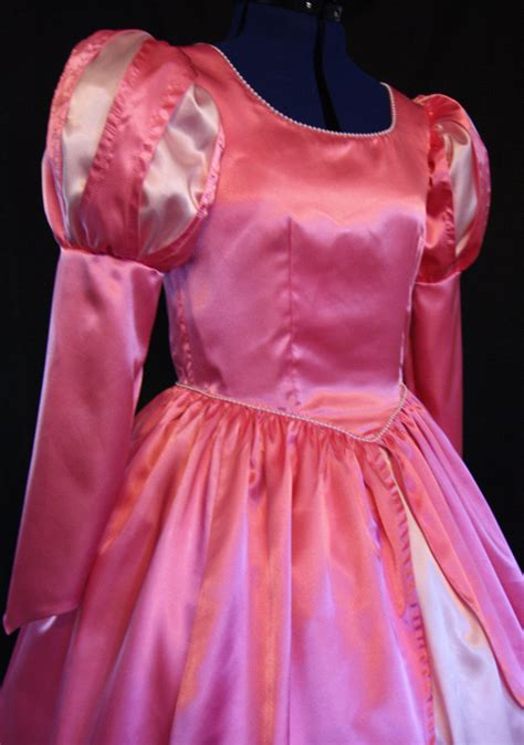 Pattern For Ariel S Pink Dress | little mermaid ariel pink gown costume adult size