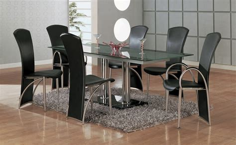 7 Modern Dining Room Sets With Stunning Metal Dining Metal Dining Room Table Sets