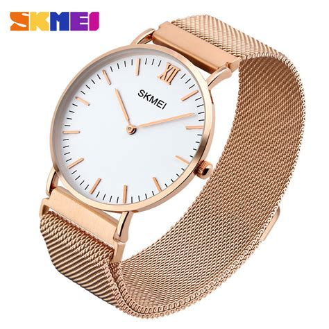 Burberry Sport Jam Tangan Wanita Stainless skmei jam tangan pria milanese magnetic stainless steel 1318 gold jakartanotebook