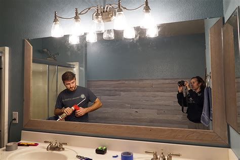new bathroom mirrors diy frame around bathroom mirror diy diy bathroom mirror frame for under 10 rise and renovate
