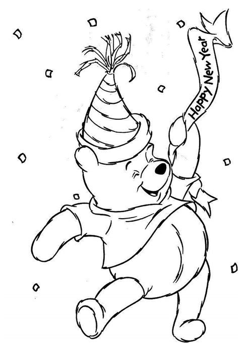coloring pages new year new years coloring page az coloring pages