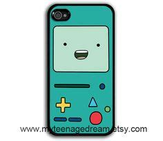 Beemo Bmo Adventure Time Iphone 4 4s Custom Flip Cover i this stitch for my itouch and iphone me