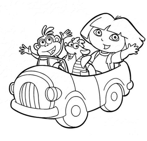 coloring book in print the explorer coloring pages to