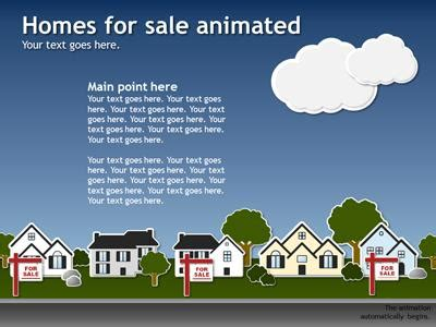 animated real estate powerpoint templates real estate template a powerpoint template from