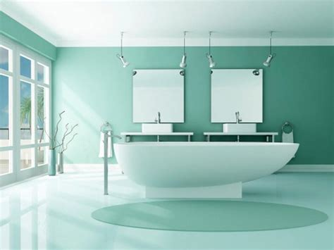 cool bathroom colors 11 cool and popular look paint colors for small bathrooms