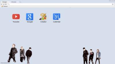 theme google chrome korean korea chrome themes themebeta