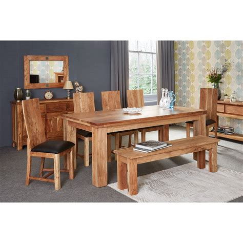 Acacia Wood Dining Table And Chairs Acacia Dining Table And Chair Home Design Ideas