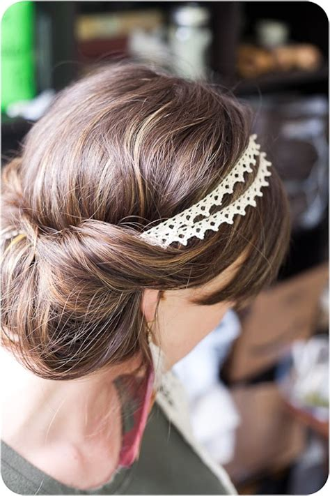 easy boho up do hairstyle tutorial