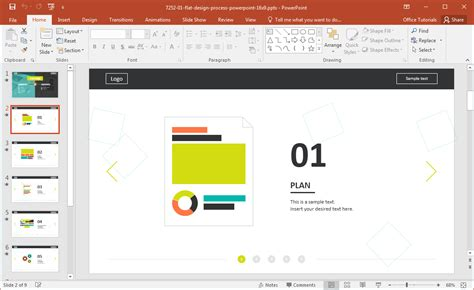 design a proposal website development presentation template for powerpoint