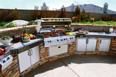 outdoor kitchens this ain t dad s backyard grill