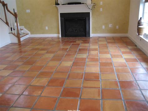 Living Room With Mexican Tile Mexican Tiles Glaze N Seal Products