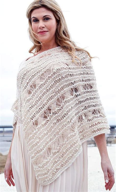 poncho pattern knitting yarn 430 best shawl knitting patterns images on pinterest