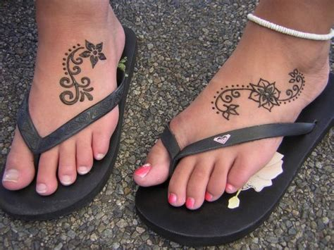 henna tattoo on foot fresh tattoos designs henna temporary tattoos for womens