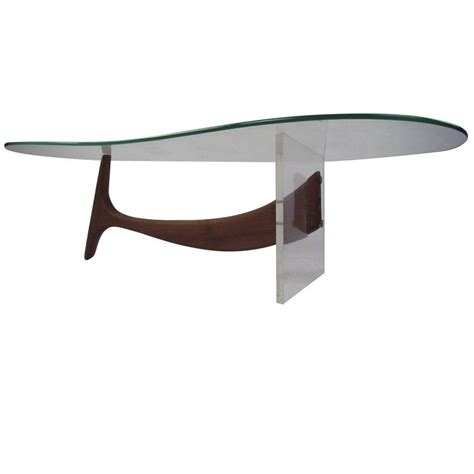 Kidney Shaped Coffee Table Kagan Style Kidney Shaped Coffee Table For Sale At 1stdibs