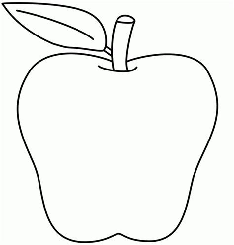 Apple Coloring Page free printable apple coloring pages for