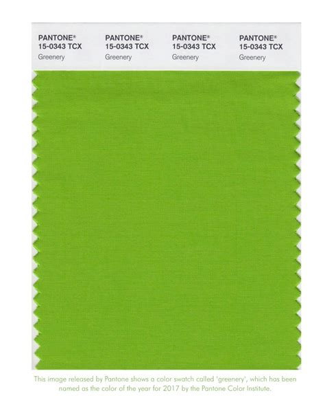 pantone colors of the year pantone announces 2017 color of the year greenery