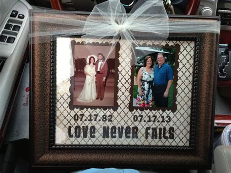 Wedding Anniversary Handmade Gifts For Parents by 25 Best Anniversary Gifts For Parents Ideas On