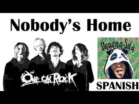 one ok rock nobody s home cover