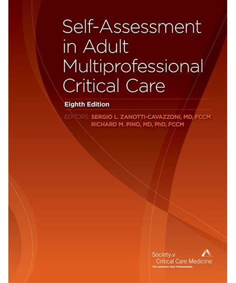 Critical Self Assessment Mba by Sccm Products