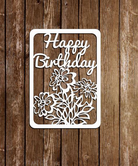 paper cut card templates papercut card birthday templatepaper cutting template pdf