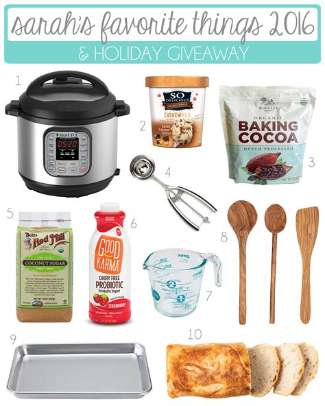 kitchen gadgets 2016 sarah s favorite things 2016 holiday giveaway sarah