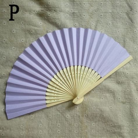 Folding Paper Fans Bulk - wholesale folding held paper fans wedding decor
