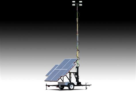 large solar light towers wanco inc