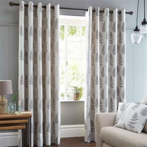 dunelm kitchen curtains fern grey lined eyelet curtains dunelm