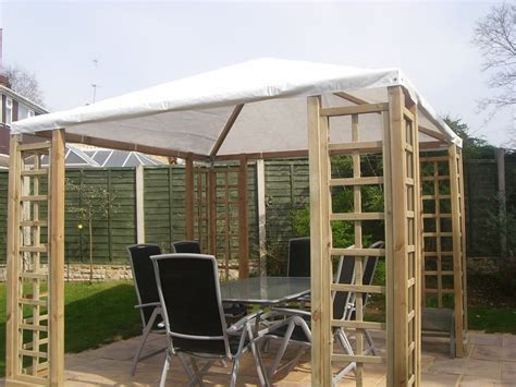 wooden pergola with roof wooden pergola with canvas plastic shhet roof