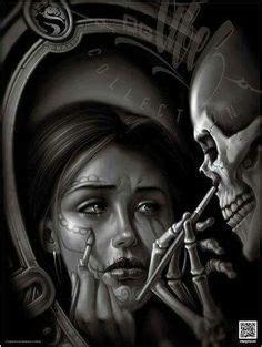 Peinture Tableau Noir 3833 by 201 Pingl 233 Par D Sur Day Of The Dead