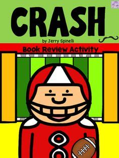 Crash By Jerry Spinelli Worksheets by Crash Novel Word Search Word Search Novels And Sentences