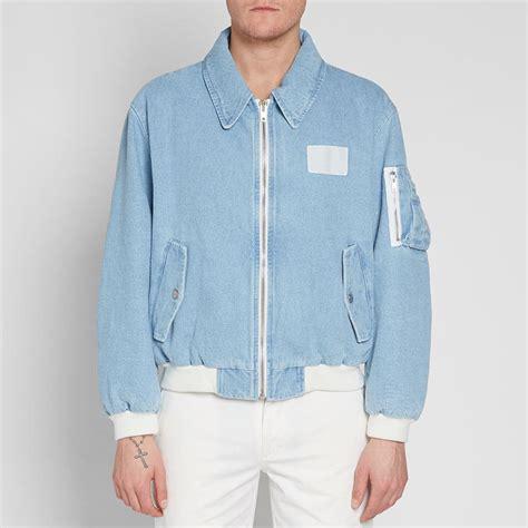 Jaket Zipper Polisi 002 Atribute gosha rubchinskiy bomber jacket blue