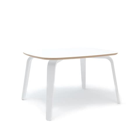 white play table ouef play table in white modernnursery com