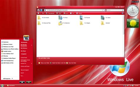 download theme windows 7 xp free new xp live red by sagorpirbd on deviantart