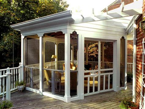 bloombety back porch ideas with dominating white back